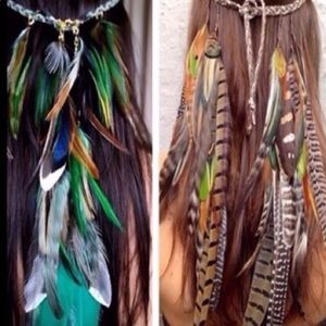 Gorgeous Indian Feathers headband🏕🏕🏕🏕🏕🏕🏕🏕